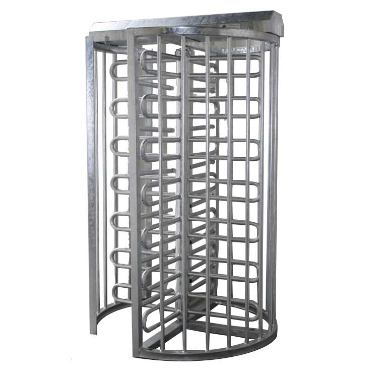 Single Full Height Eurostile Turnstile
