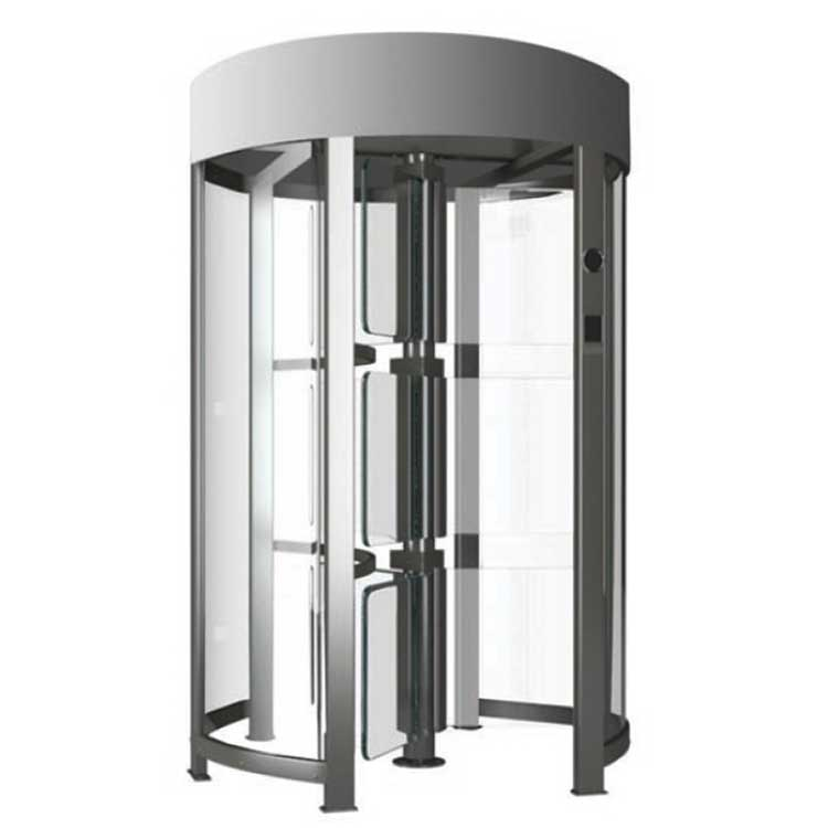 Glass Full Height Turnstile