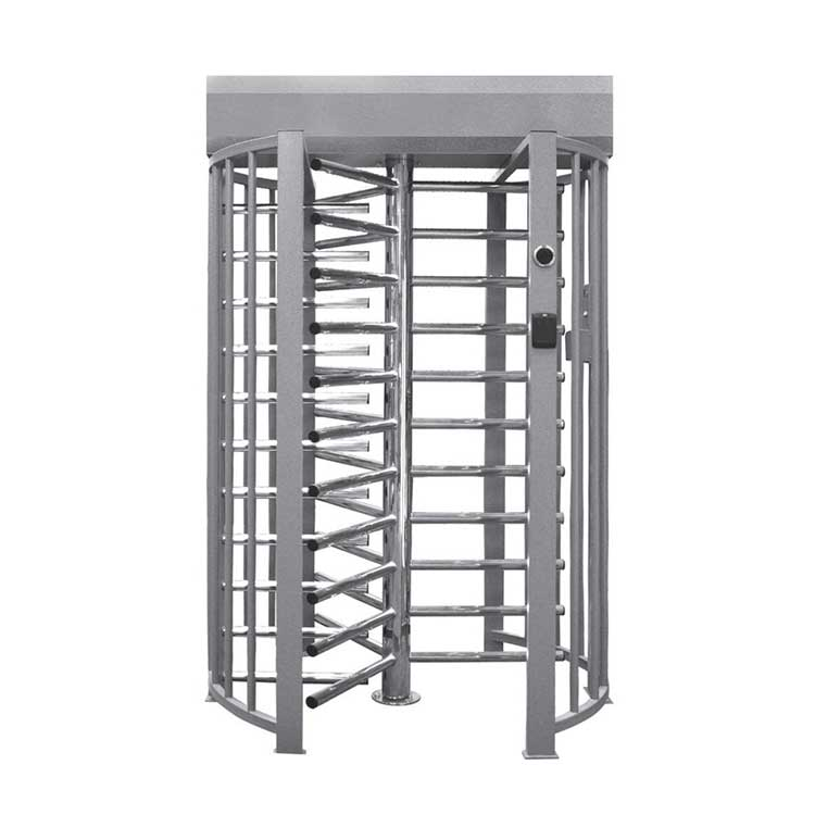 Single Full Height Turnstile with cage